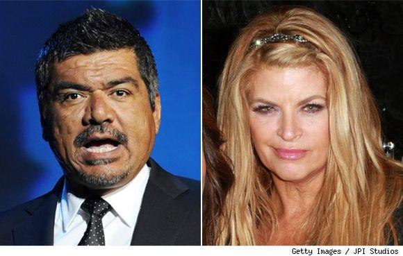 Sigue la guerra fria entre  George Lopez y Kirstie Alley