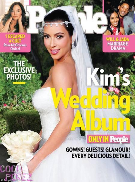 Las joyas que usó Kim kardashian en su boda rondan los 10 millones de dolares!! Bajale algo culinche?