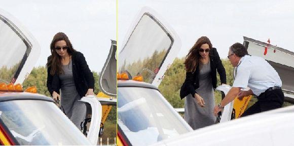 Oigan Oigan !! Angelina Jolie quiere ser piloto?