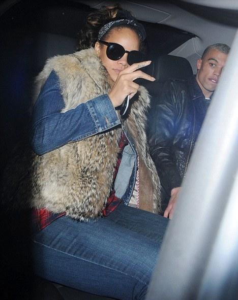 Rihanna tuvo novio y por una semana?